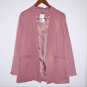 NWT blush pink H&M blazer | Size 6
